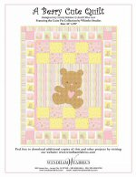 Teddy Bear Free Quilt Patterns & Tutorials