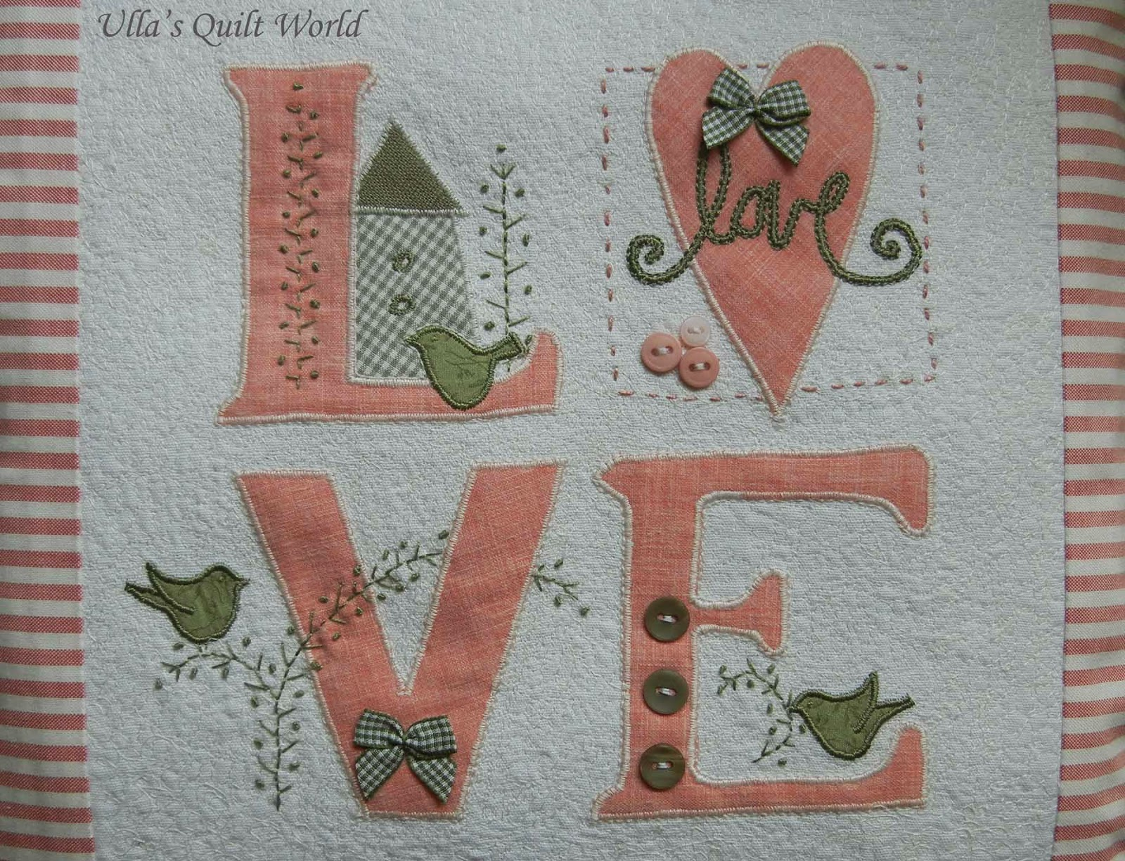 Love Design by Ulla from Ulla's Quilt World