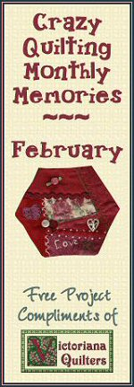 Victoriana Quilt Designs Free Block of the Month