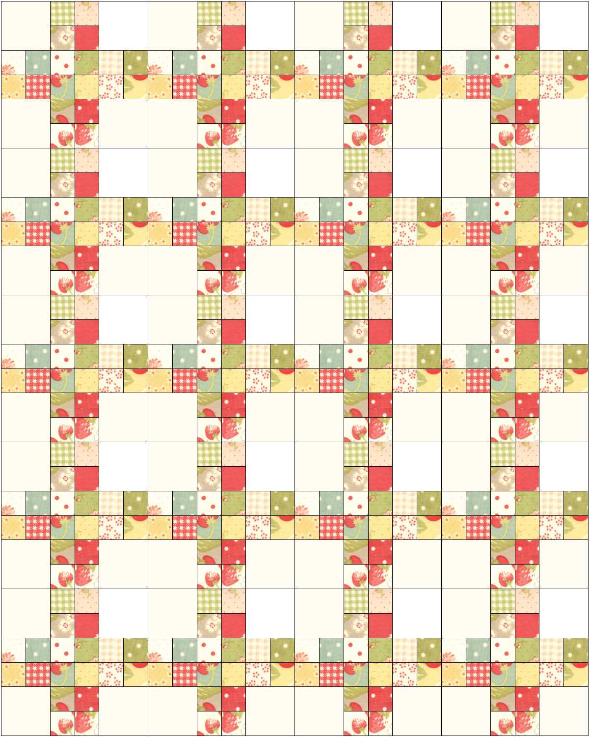Stashbuster Scrappy Quilt by Corey Yoder from Little Miss Shabby