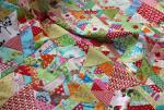 60-Degree Scrap Quilt Tutorial by Kim Brackett from Magnolia Bay Quilts