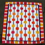 Abacus Baby Quilt Pattern Tutorial by Shana Schasteen from 9 Stitches