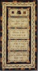 An Irish Blessing Free Stitchery Quilt Pattern from Silly Goose Quilts