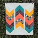 Arrows Away Quilt Pattern by Andrea Smith from Happy Cloud Creations