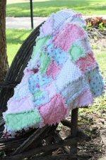Baby Rag Quilt Tutorial by Jenae from I Can Teach My Child