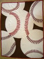 Baseball Quilt Tutorial by Shari Hiller from Matt and Shari
