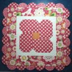 Bloomin' Blossoms Table Topper by Deonn Stott through Riley Blake Designs