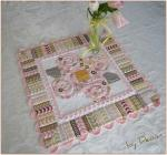 Bloomin' Blossoms Spring Posy Table Topper by Deonn from Quiltscapes