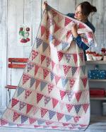 Candy Bloom Free Quilt Pattern from Tildas World