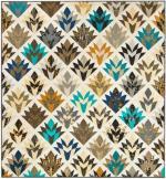 Cleopatra's Fan Free Quilt Pattern by Robert Kaufman & Ramona Rose for Robert Kaufman Fabrics