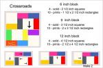 Crossroads Block Tutorial in 3 Sizes by Connie Kresin