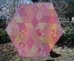 Diamond Quilt Tutorial by Leila Gardunia from Sewn by Leila