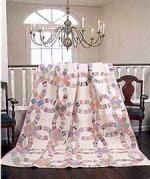 Double Wedding Ring Quilt from McCalls Quilting Magazine