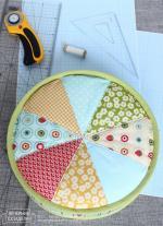 Wedges Pillow Tutorial by Tatiana Maksimenko from Vechernie-Posidelki