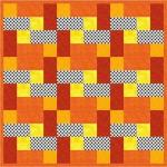 Easy Firefighter Free Baby Quilt Pattern by Holly from FabricMom