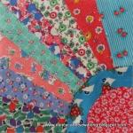 Friendship Fan Quilt Block Tutorial by Nancy Cabot through Nancy Cabot Sew Along