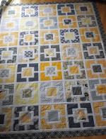 Garden Fence Free Quilt Pattern by Cindy Lammon from Hyacinth Quilt Designs