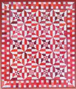 Red Hot Flash Free Quilt Pattern by Debby Kratovil Quilts