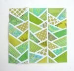 Improv Herringbone Quilt Block Tutorial by Amy Garro from 13 Spools