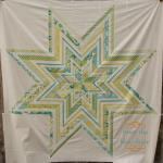 Jumbo Paper Pieced Star Tutorial by Kati Spencer of From the Blue Chair
