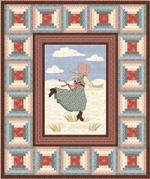 Little House on the Prairie Quilt Pattern by Heidi Pridemore for Andover Fabrics