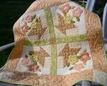 May Day Basket Wallhanging Tutorial by Julie Cefalu from The Crafty Quilter