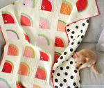 Mod Melons Free Quilt Pattern by Suzy Williams from Suzy Quilts