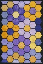 Pattern Play March Block of the Month by Benita Skinner through Victoriana Quilt Designs