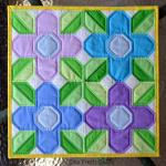 Pretty Posy Quilt Tutorial by Lorna from Sew Fresh Quilts