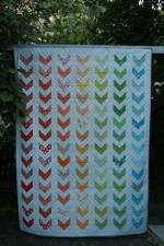 Rainbow Chevron Tutorial by Leigh from Leedle Deedle Quilts