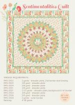 Sentimentalities Quilt Pattern by Bonnie Christine from Going Home to Roost