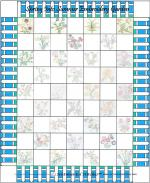 Spring Into Summer Embroidery Garden Quilt from Sentimental Stitches