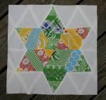 Six Pointed String Star by Katie Blakesley from Swim Bike Quilt
