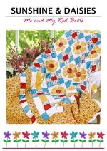 Sunshine & Daisies Free Quilt Pattern by Antonie Alexander from the The Red Boot Quilt