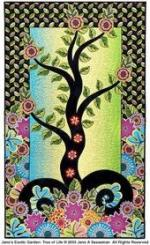 Tree of Life Free Quilt Pattern by Jane Sassaman