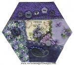 Crazy Quilt Monthly Memories May Block by Benita Skinner through Vintage Embellishments