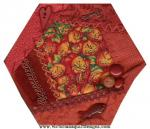 Crazy Quilt Monthly Memories October Block by Benita Skinner through Vintage Embellishments