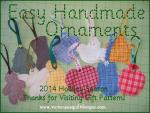Easy Handmade Ornaments Tutorial by Benita Skinner from Victoriana Quilt Designs