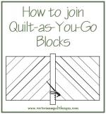 Quilt-as-You-Go Instructions from Victoriana Quilt Designs