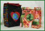 Reusable Lunch Bag Free Pattern by Benita Skinner from Victoriana Quilt Designs