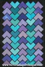 Pattern Play April Block of the Month by Benita Skinner through Victoriana Quilt Designs