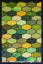 Pattern Play August Block of the Month by Benita Skinner through Victoriana Quilt Designs