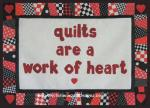 Quilts are a Work of Heart Free Quilt Pattern by Benita Skinner from Victoriana Quilt Designs