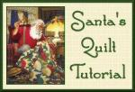 Santa's Rising Sun Quilt Tutorial by Benita Skinner from Victoriana Quilt Designs