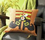 Witch Legs Pillow Free Pattern by Melony Bradley through Fave Crafts