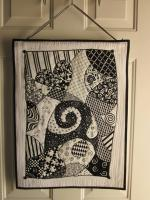 Zentangle Quilt Tutorial from Zany Quilter