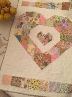 Baby Love Quilt Tutorial by Susie from Susies-Scraps