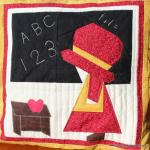 Back to School Sue Free Paper Pieced Pattern by Amy from Butterfly Angels Quilting