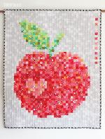 Big Juicy Apple Quilt Tutorial by Tamara Kate through Janome Life