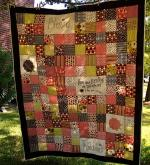 Blessings Patchwork Quilt Tutorial by Sally through Riley Blake Designs